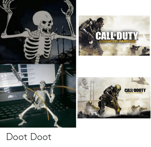 Thereal: CALL DUTY  OF  ADVANCED WARFARE  /TheReal Broseph  CALL DOOTY  ADVANCED WARFARE Doot Doot