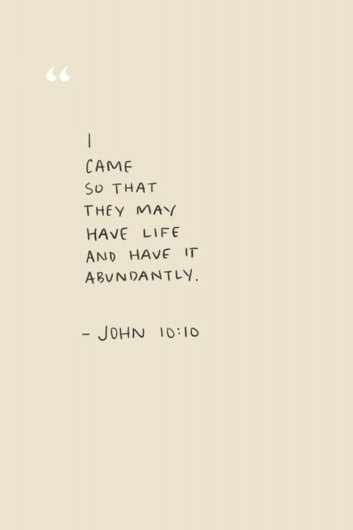 Life, May, and They: CAMF  SO THAT  THEY MAY  HAVE LIFE  AND HAVE IT  ABUNDANTLY.  - JOHN 10:10