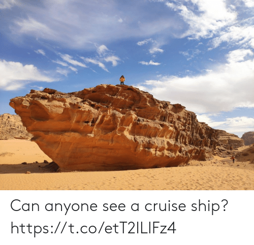 Cruise, Faces-In-Things, and Can: Can anyone see a cruise ship? https://t.co/etT2ILIFz4
