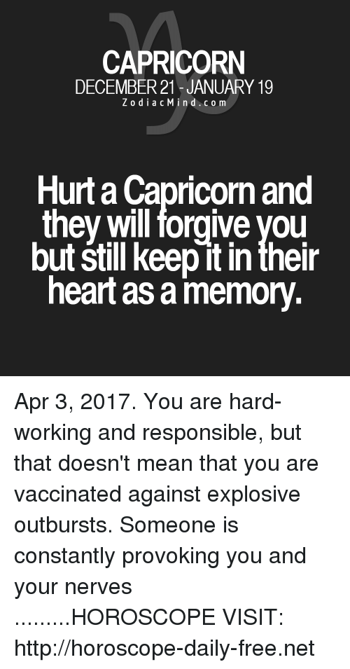When a capricorn is hurt  12 Things To Know About Loving A