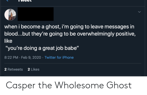 Wholesome: Casper the Wholesome Ghost