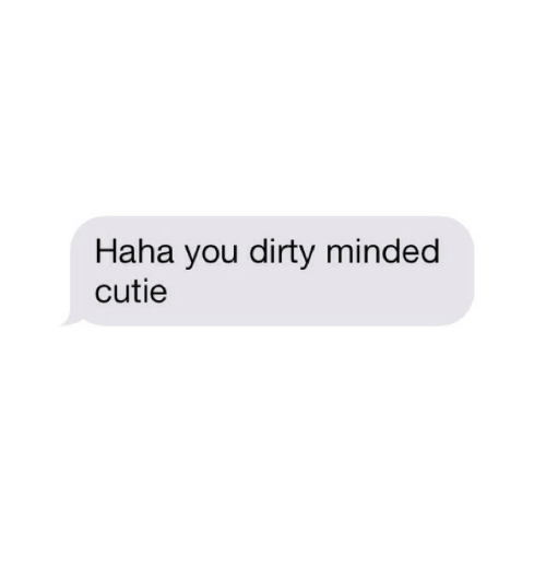 Dirty, You, and Dirty Minded: cathe you dirty minded  cutie