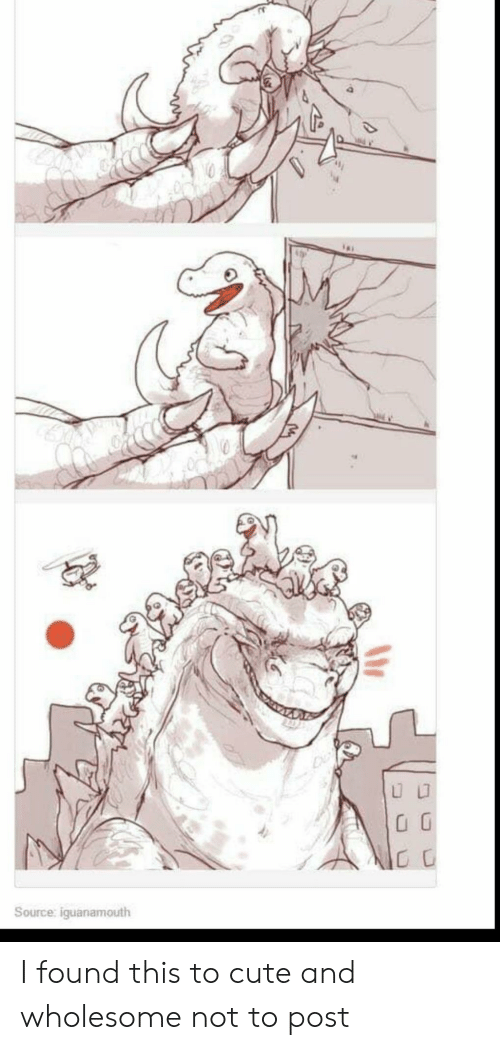 Cute, Wholesome, and Source: CC  Source: iguanamouth I found this to cute and wholesome not to post