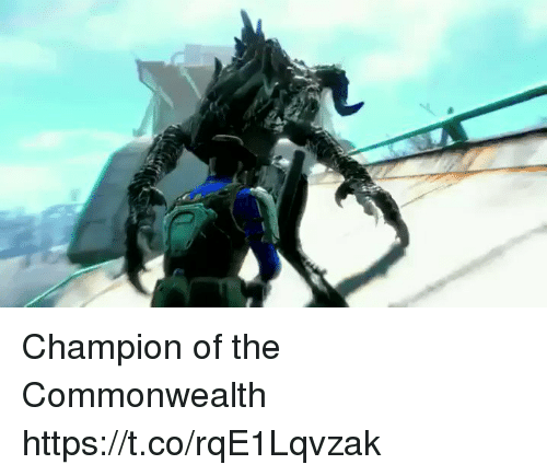 commonwealth: Champion of the Commonwealth https://t.co/rqE1Lqvzak
