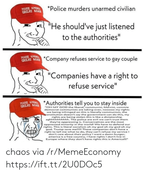 Via, Href, and Chaos: chaos via /r/MemeEconomy https://ift.tt/2U0DOc5