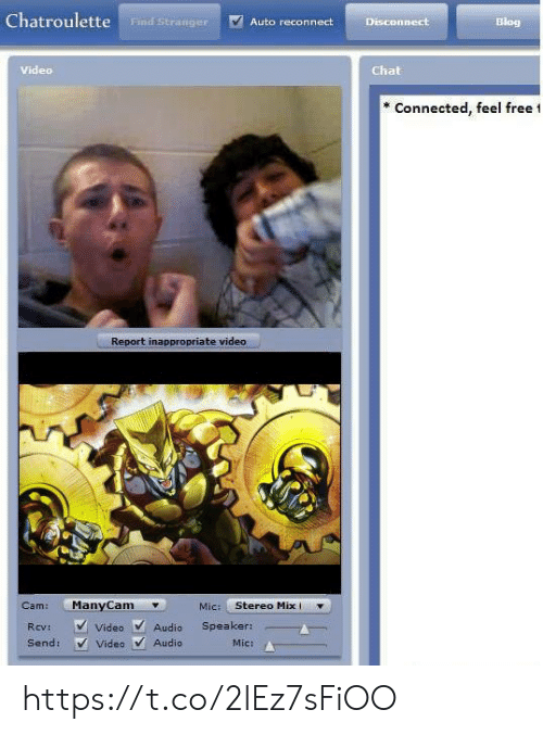 Chat video chatroulette