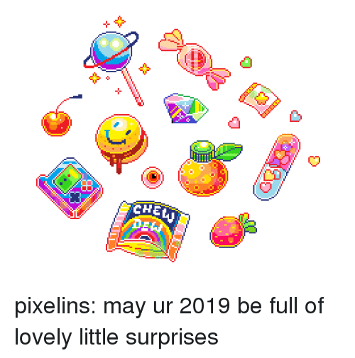 Target, Tumblr, and Blog: CHE  DE* pixelins:  may ur 2019 be full of lovely little surprises