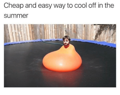 cooled-off: Cheap and easy way to cool off in the  Summer