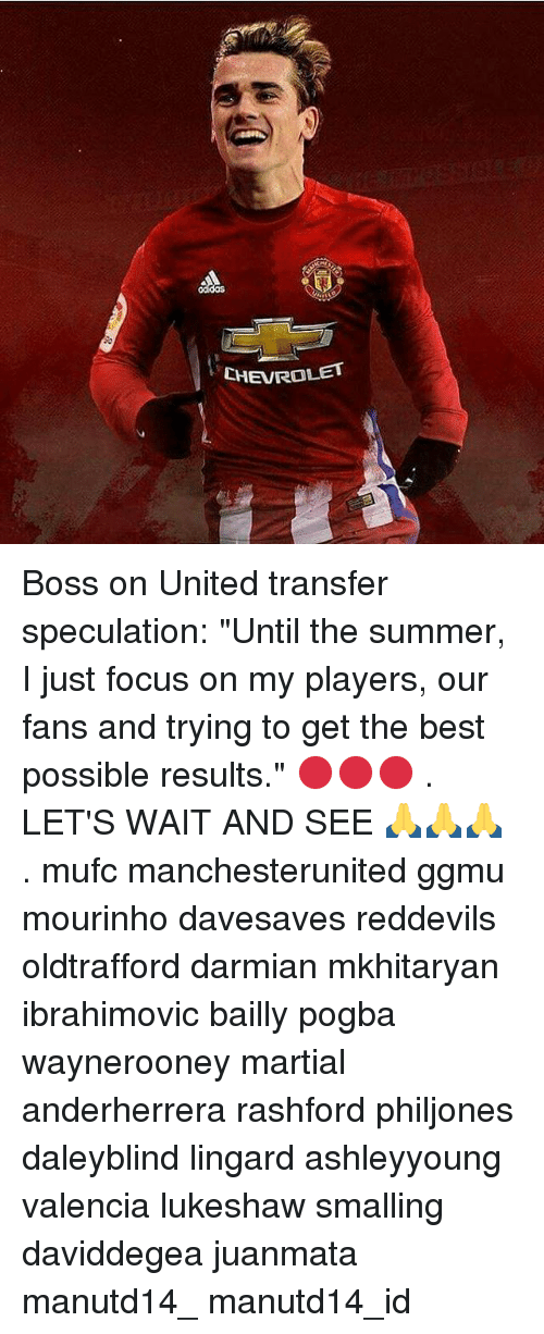 "Memes, Chevrolet, and 🤖: CHEVROLET Boss on United transfer speculation: ""Until the summer, I just focus on my players, our fans and trying to get the best possible results."" 🔴🔴🔴 . LET'S WAIT AND SEE 🙏🙏🙏 . mufc manchesterunited ggmu mourinho davesaves reddevils oldtrafford darmian mkhitaryan ibrahimovic bailly pogba waynerooney martial anderherrera rashford philjones daleyblind lingard ashleyyoung valencia lukeshaw smalling daviddegea juanmata manutd14_ manutd14_id"