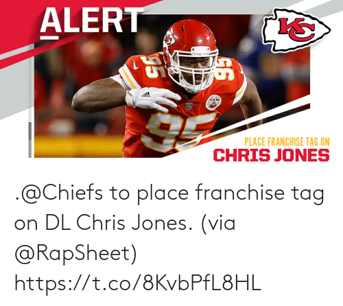 jones: .@Chiefs to place franchise tag on DL Chris Jones. (via @RapSheet) https://t.co/8KvbPfL8HL