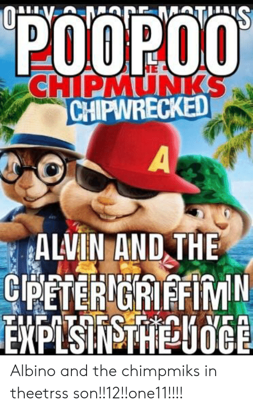 Chipmunks Chipwrecked Alvin And The Albino And The Chimpmiks In