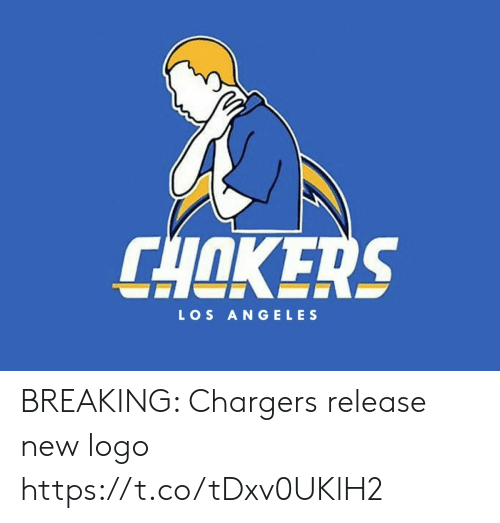 logo: CHOKERS  LOS ANGELES BREAKING: Chargers release new logo https://t.co/tDxv0UKlH2