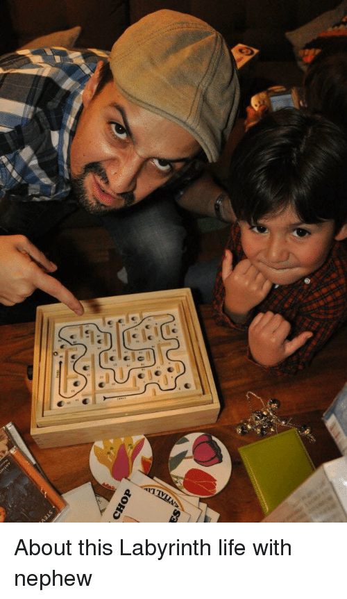 Labyrinth: CHOP About this Labyrinth life with nephew