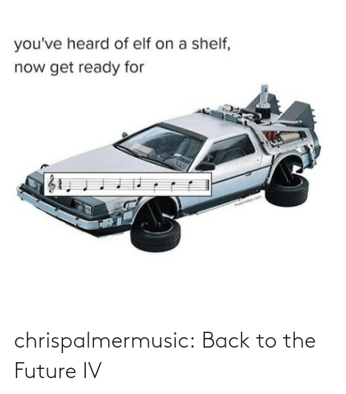 A: chrispalmermusic:  Back to the Future IV