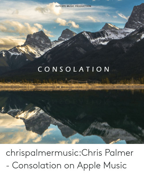 Chris: chrispalmermusic:Chris Palmer - Consolation on Apple Music