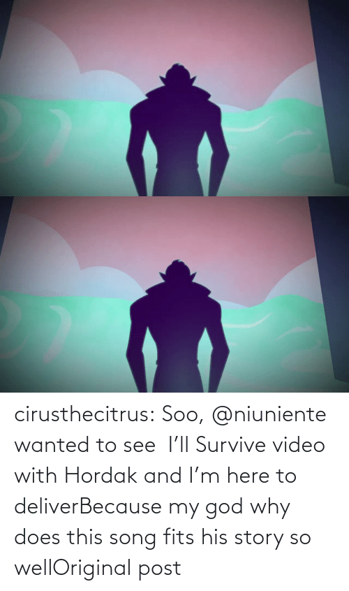 Survive: cirusthecitrus:  Soo, @niuniente wanted to see   I'll Survive video with Hordak and I'm here to deliverBecause my god why does this song fits his story so wellOriginal post