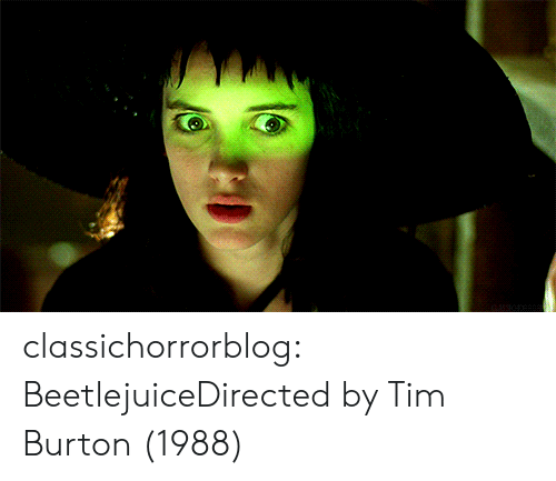 Beetlejuice: classichorrorblog:  BeetlejuiceDirected by Tim Burton (1988)