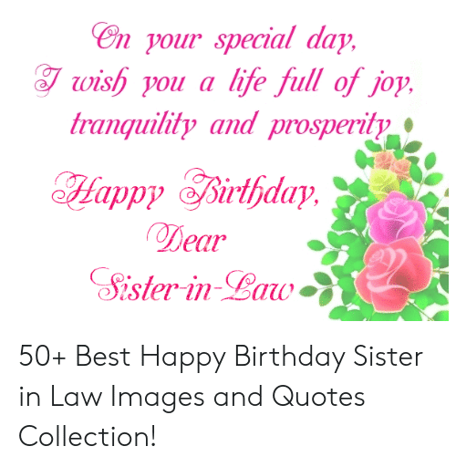 25 Best Memes About Happy Birthday Sister In Law Images Happy Birthday Sister In Law Images Memes