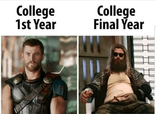 College, Final, and  Year: College  Final Year  College  1st Year