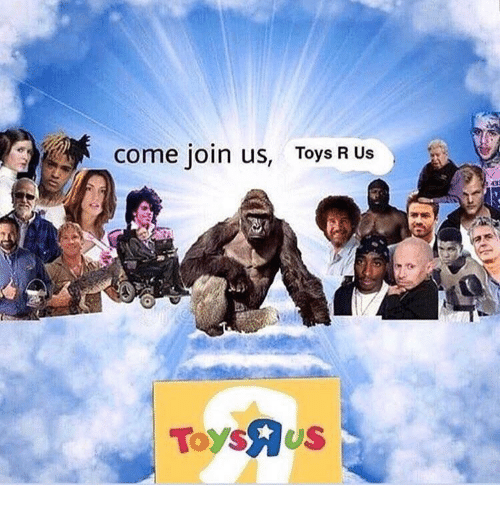 Toys R Us: come join us,  Toys R Us