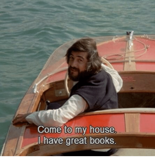 Books, My House, and House: Come to my house  l have great books