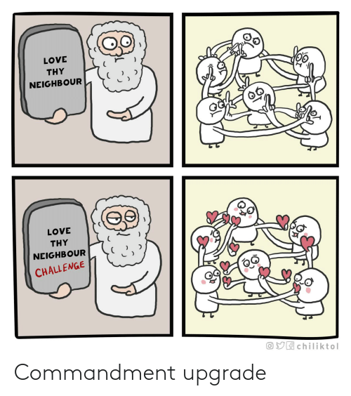 Commandment: Commandment upgrade
