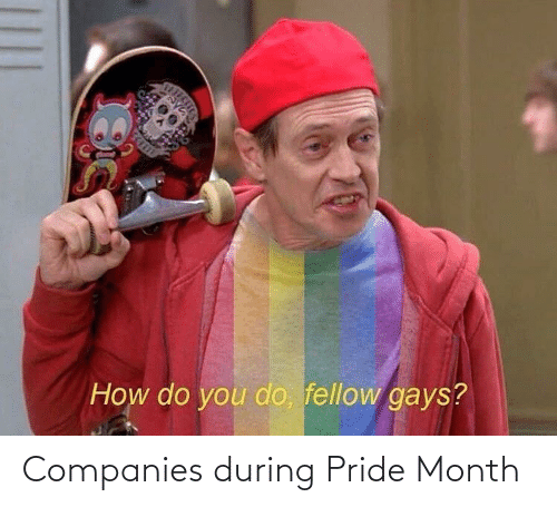 pride: Companies during Pride Month