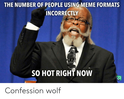 Wolf: Confession wolf