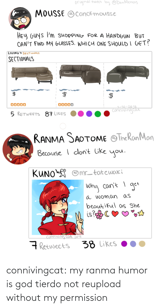 tier: connivingcat:  my ranma humor is god tierdo not reupload without my permission