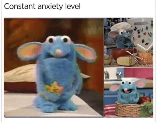 Anxiety, Level, and Constant: Constant anxiety level