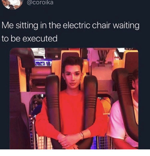 Me Sitting in the Electric Chair Waiting to Be Executed
