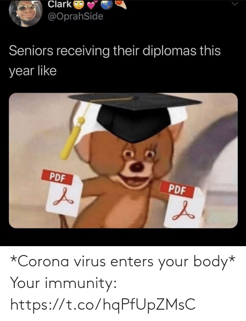virus: *Corona virus enters your body*  Your immunity: https://t.co/hqPfUpZMsC
