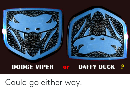 Either: Could go either way.