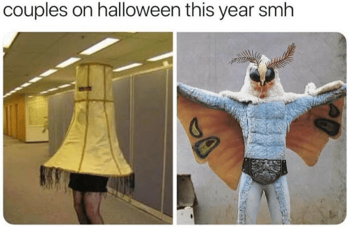 Halloween, Smh, and This: couples on halloween this year smh