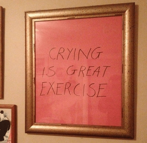Exercise and Creat: CRYINT  S CREAT  EXERCISE