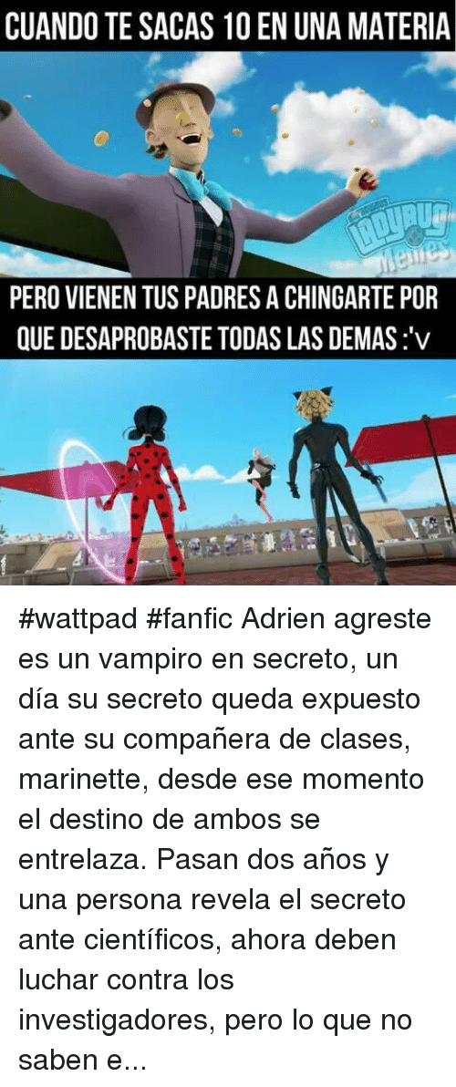 Marinette And Adrien Fanfiction Reveal