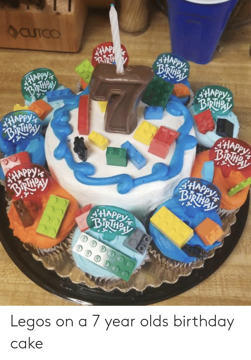 Birthday Cake And Legos CUTCO BI 9 21A SHA On