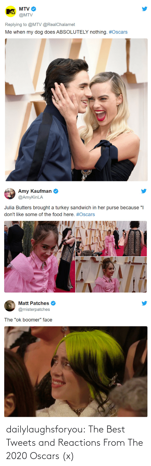 bit.ly: dailylaughsforyou:  The Best Tweets and Reactions From The 2020 Oscars (x)