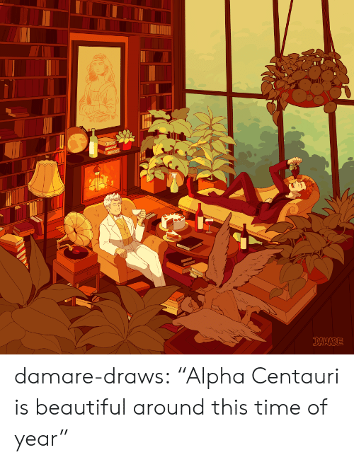 "Beautiful, Target, and Tumblr: DAMARE damare-draws:    ""Alpha Centauri is beautiful around this time of year"""