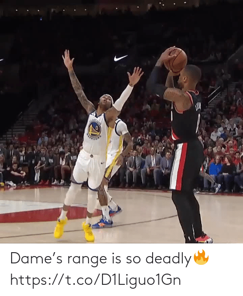 Deadly: Dame's range is so deadly🔥 https://t.co/D1Liguo1Gn