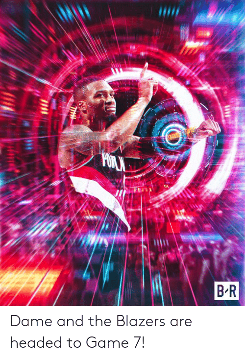 Blazers: Dame and the Blazers are headed to Game 7!