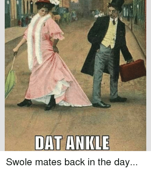 Dat Ankle