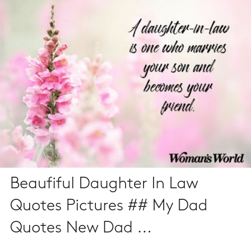 🐣 25+ Best Memes About Daughter in Law Quotes | Daughter in ...