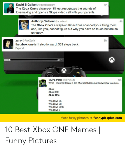 David S Gallant the Xbox One's Always-On Kinect Recognizes the