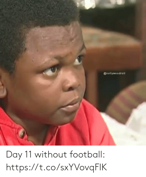 soccer: Day 11 without football: https://t.co/sxYVovqFIK