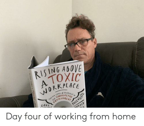 Four: Day four of working from home