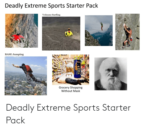 Deadly: Deadly Extreme Sports Starter Pack