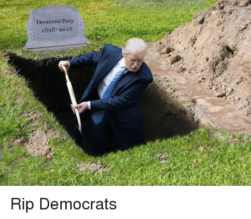 Party, Politics, and Rip: Demoeratic Party  1828-2018