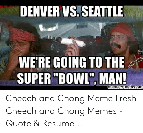 DENVER VS SEATTLE WE\'RE GOING TO THE SUPER BOWL MAN ...