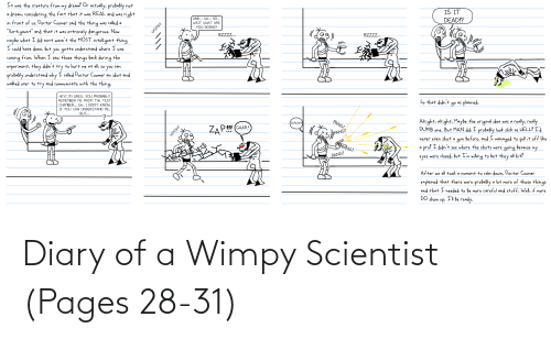 scientist: Diary of a Wimpy Scientist (Pages 28-31)